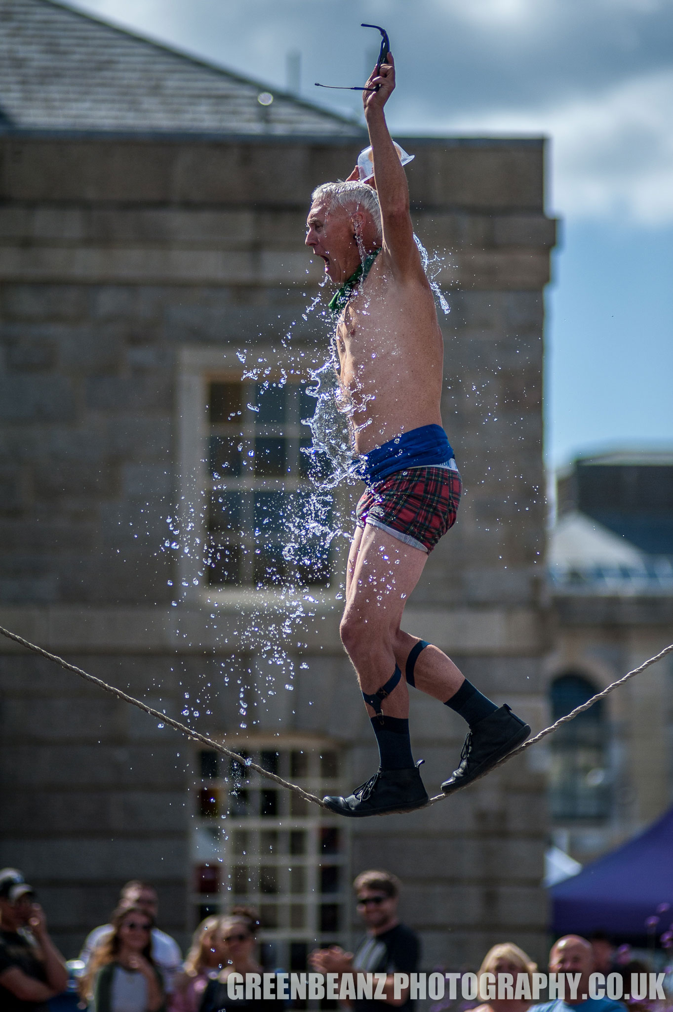 The Invisible Circus in Plymouth's Royal William Yard 2019 Kwabana Lindsay