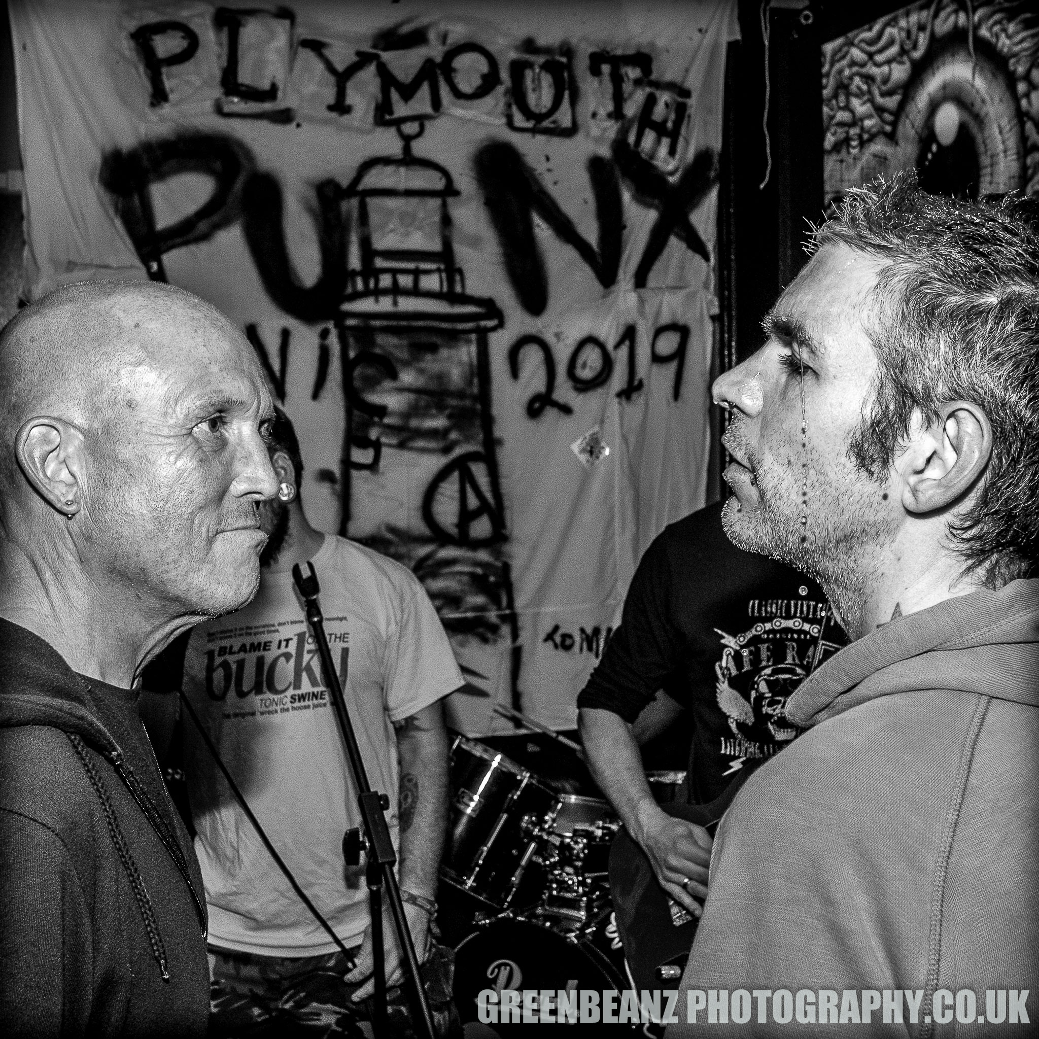 Plymouth Punks Picnic Fans at the Pit and Pendulum in 2019