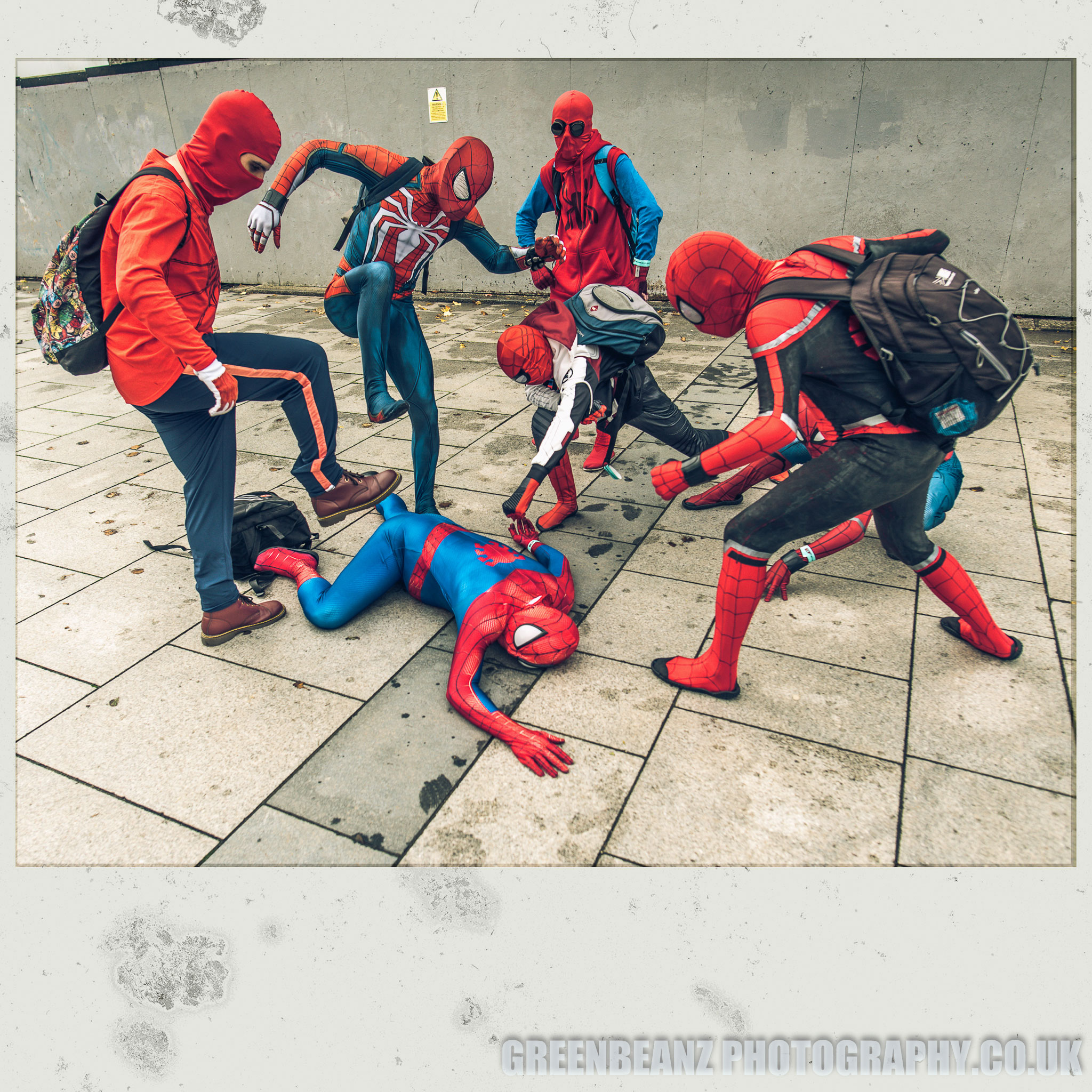 Devcons second Plymouth 2019 convention fun with some Spidermen