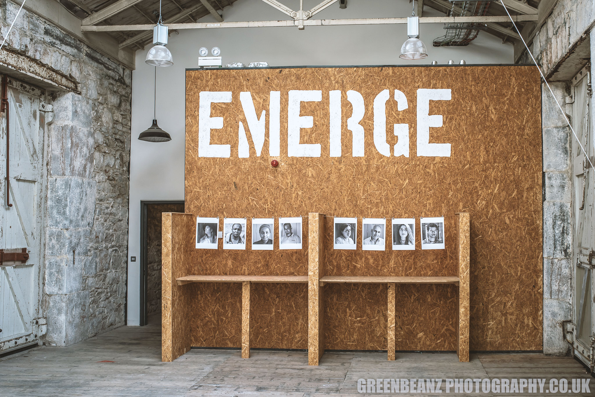 Emerge held a show entitled 'Together' showing work from some of the cities Reugee population at The Royal William Yard