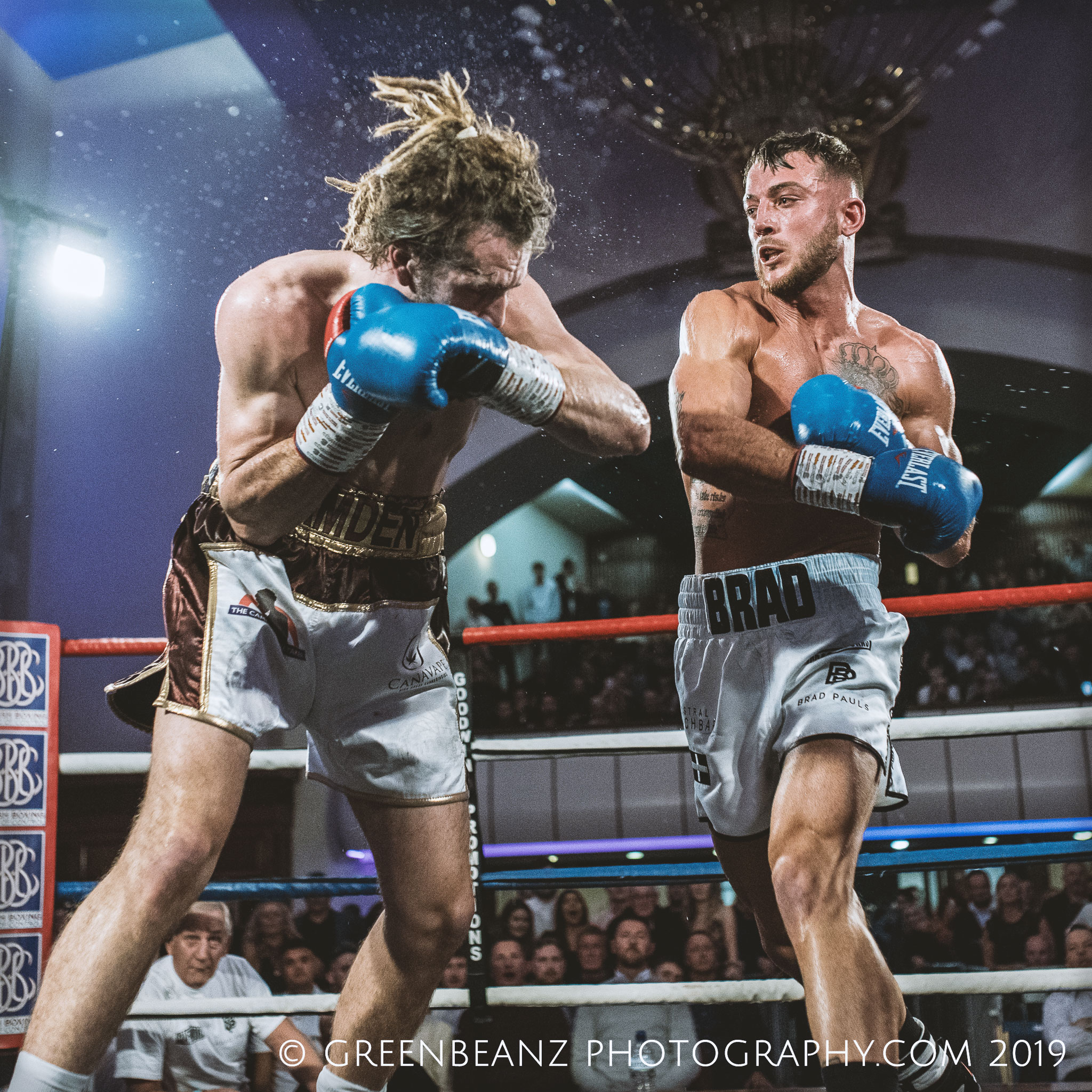 Brad Pauls defends his Southern Area Middleweight Title in Plymouth 2019