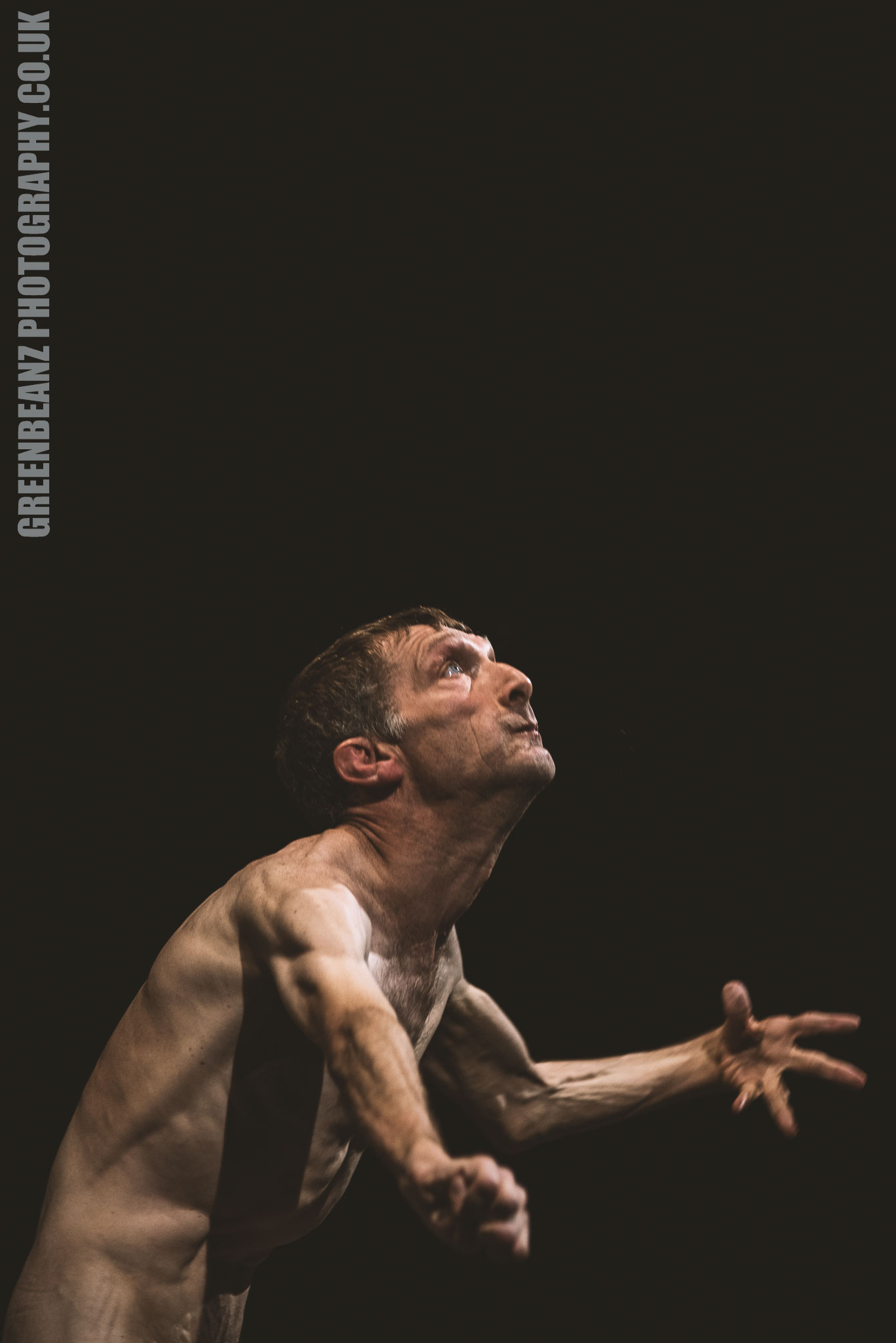 Dancer Kevin French performing in Plymouth