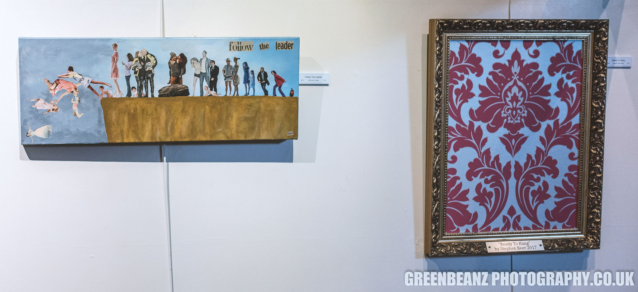 Stephen Beer's 'Follow the leader' and 'Ready to hang' at Tavistock Wharf
