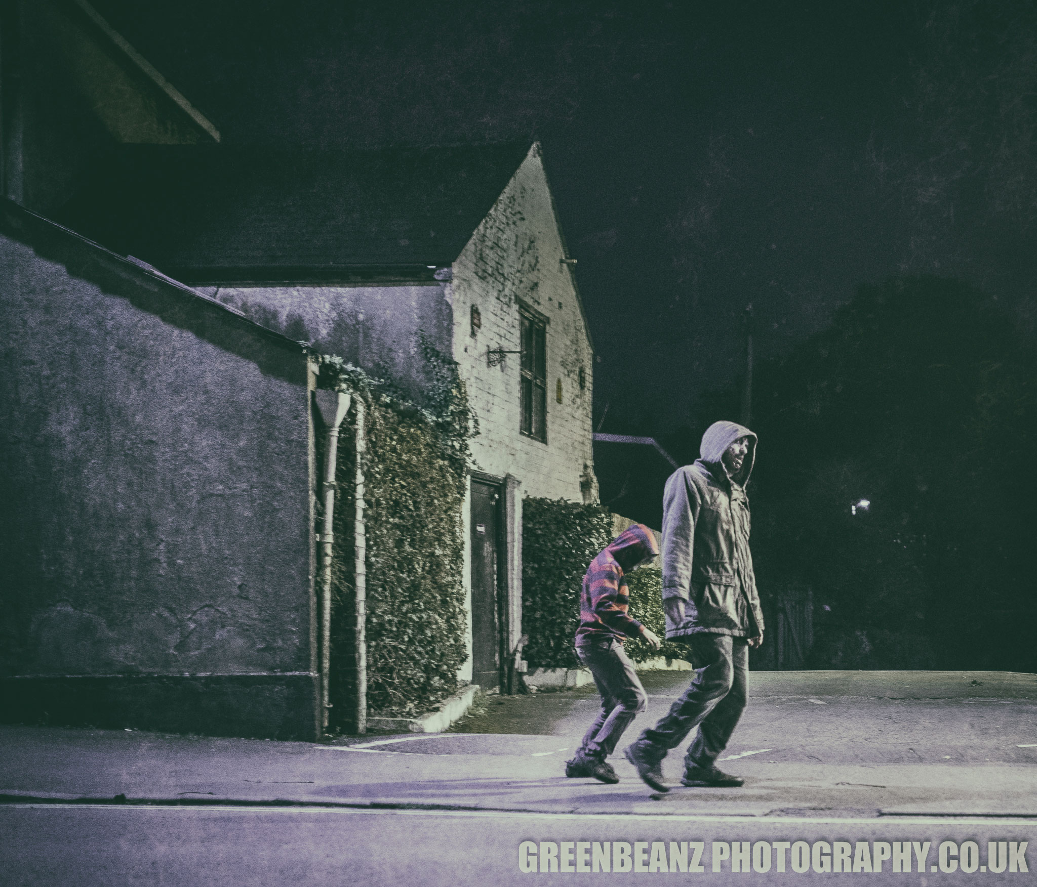 Ivybridge town centre visited by the Zombie Walkers